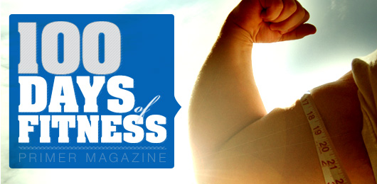 100 Days of Fitness: The Muscle Aesthetic