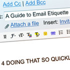 A Guide to E-mail Etiquette