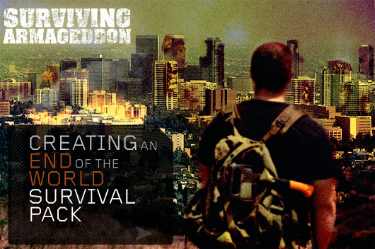 creating an end of the world survival pack