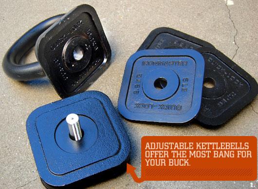 Adjustable kettlebell