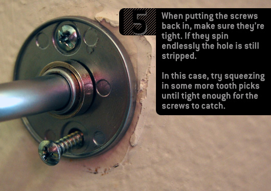 how to fix a stripped screw part 5