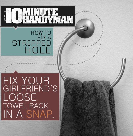 The 10 Minute Handyman: How to Fix a Stripped Hole