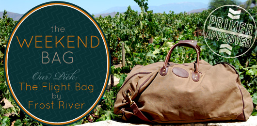 The Weekend Bag: Primer Approved