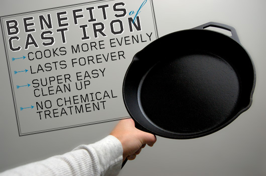 Benefits of Cast Iron
