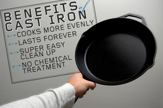 Benefits of Cast Iron