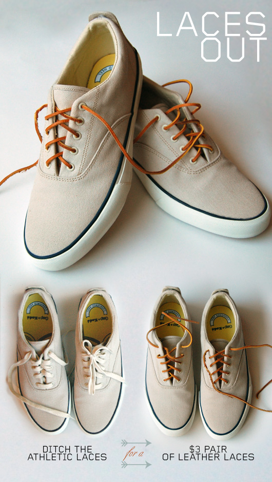 laces out  cheap leather laces rejuvenate canvas shoes