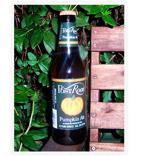 Bottle of Pumpkin Ale