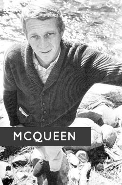Steve McQueen posing for the camera