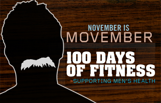 100 Days of Fitness Special: Men's Health in Movember