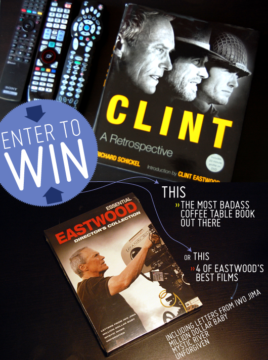 Clint Eastwood book and dvd