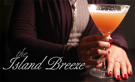 Island Breeze cocktail