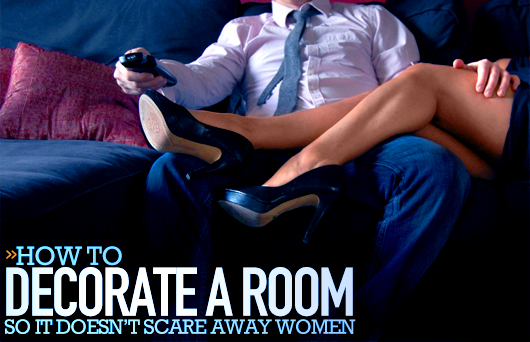 How to Decorate a Room So It Doesn't Scare Away Women