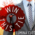 Win This Beautiful Gingham Skinny Tie from Lumina Clothing Co.