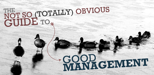 The Not So (Totally) Obvious Guide to Good Management