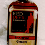 A Review of Red Devil Grooming's Greed Shampoo