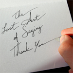 The Lost Art of Saying 'Thank You'