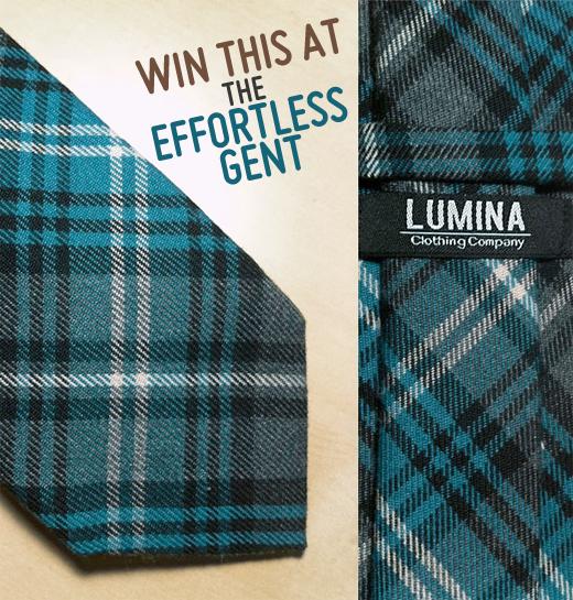 The effortless gent Lumina tie