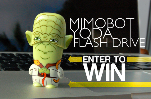 Mimobot Yoda Flash Drive Review (And Contest!)
