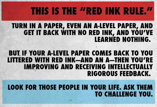Article text - this is the red ink rule