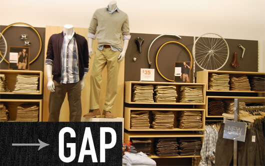 photo of Gap store