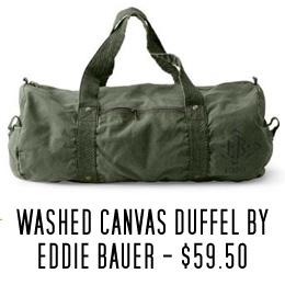 Eddie Bauer duffel bag