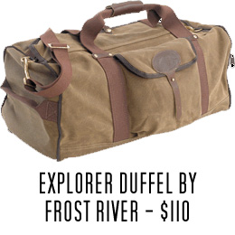 Frost River duffel bag