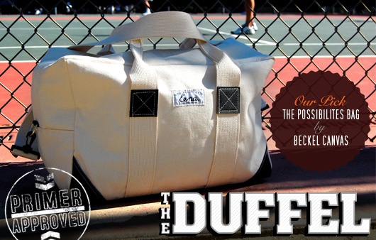 The Essentials: The Duffel Bag
