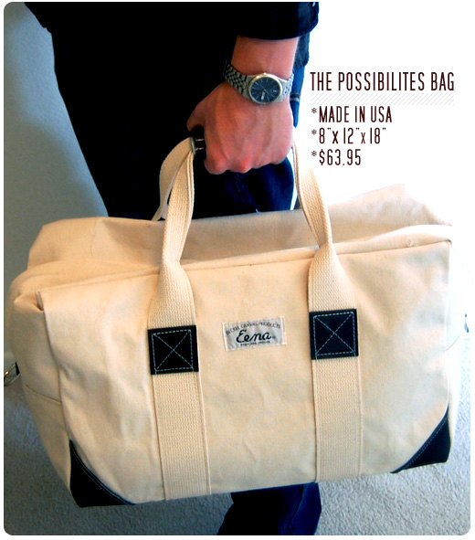 Beckel Canvas Possibilites Bag Duffel