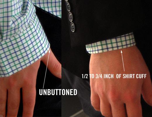 shirt sleeve fit