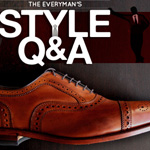 Style Q&A: Socks Matching Pants, Which Buttons Count on a Polo, and Options for Brown Lace Ups