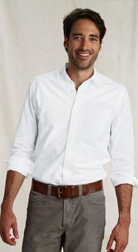 straight collar poplin