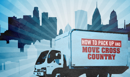 how to pack up and move cross country