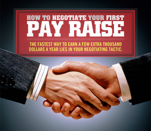 How to Negotiate Your First Pay Raise
