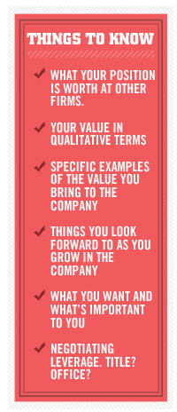 Article text - Things to know, your value, specific examples, things you look forward to