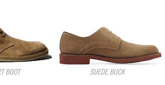 Suede buck