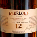 The Recommendation: Aberlour 12 Year Old Scotch