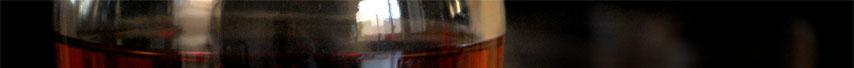 Top slice of a bottle