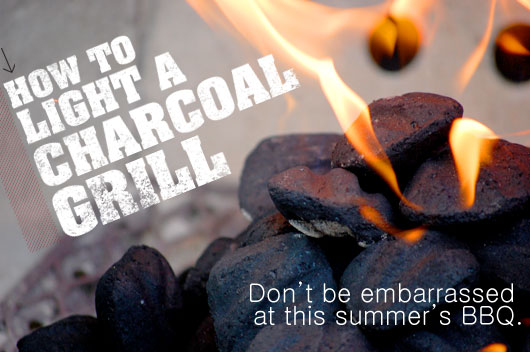 How to Light a Charcoal Grill
