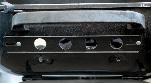 Vents on a grill