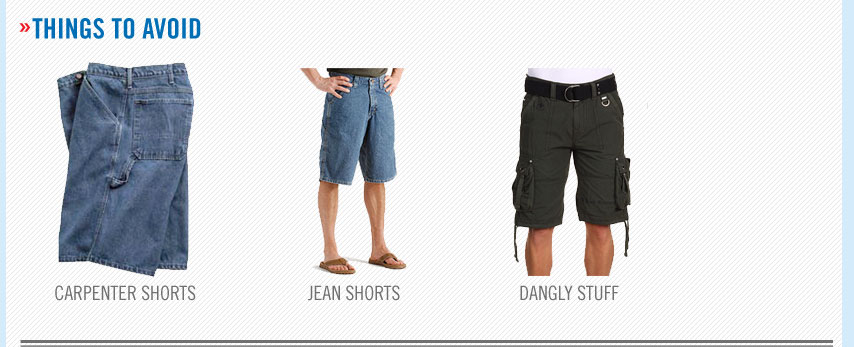 ugly men's shorts