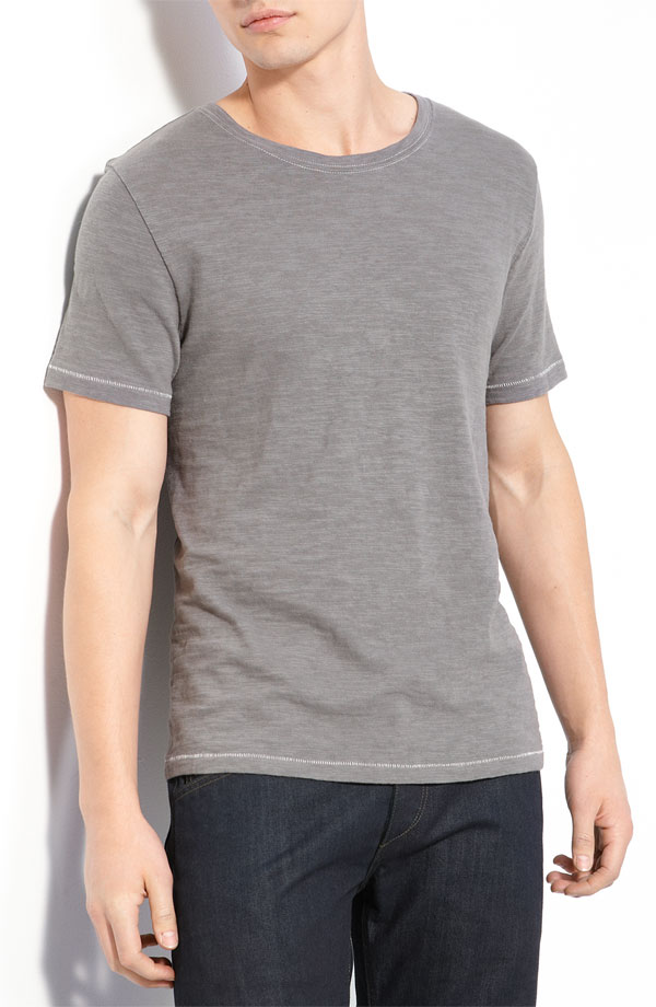 grey cotton t shirt