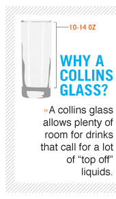 Why use a collins glass