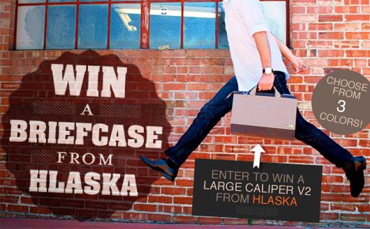 Enter to Win a Hlaska Caliper V2 Briefcase!