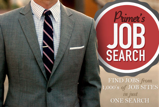 Search job listings from 1,000's of sites with one search
