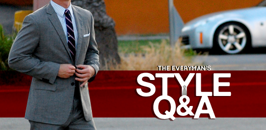 Style Q&A: What to Wear Under Light Blazers, Trouble Matching Shoes, and Finding Clothes for a Big Guy in Skinny Prep Stores