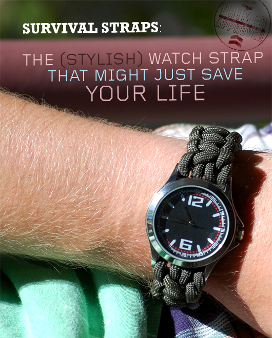 Survival Straps: The (Stylish) Watch Strap That Might Just Save Your Life