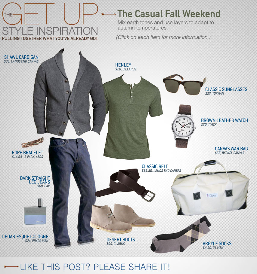 The Get Up  The Casual Fall Weekend