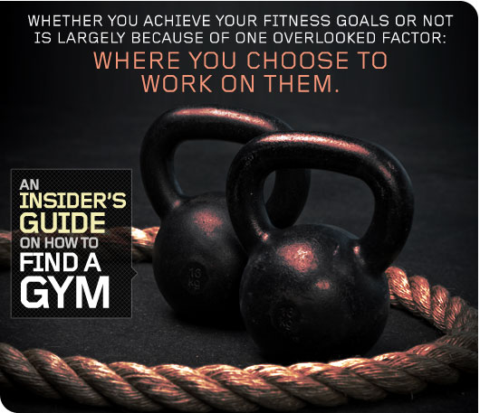 An Insider's Guide on How to Find a Gym
