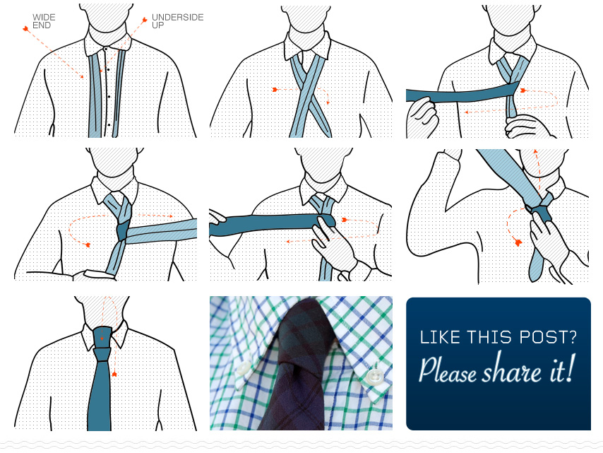 how to tie a kelvin tie knot