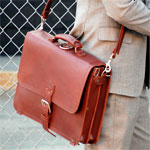 A Review of Saddleback Leather Company's Thin Briefcase: A Businessman's Toolbox